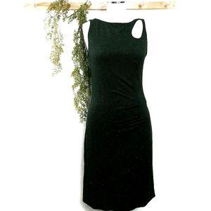 Joseph Ribkoff Unique Metallic Cut Out Dress 8